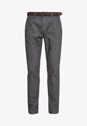 Spodnie materiałowe - grey/black