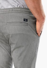 s.Oliver - Tracksuit bottoms - dark grey check - 4