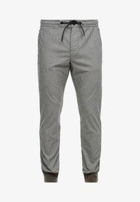 s.Oliver - Tracksuit bottoms - dark grey check - 6