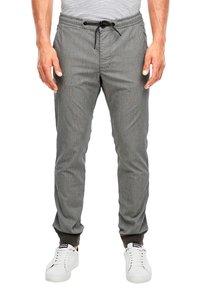 s.Oliver - Tracksuit bottoms - dark grey check - 5