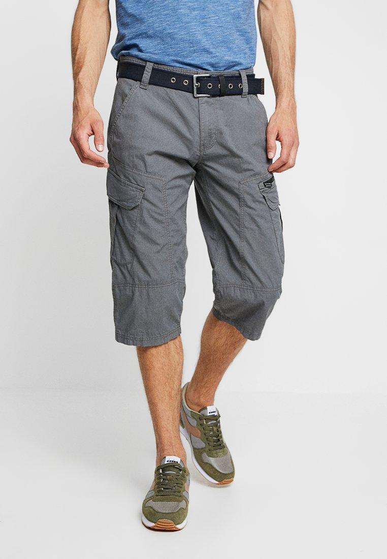 s.Oliver - LOOSE - Shorts - smoke grey