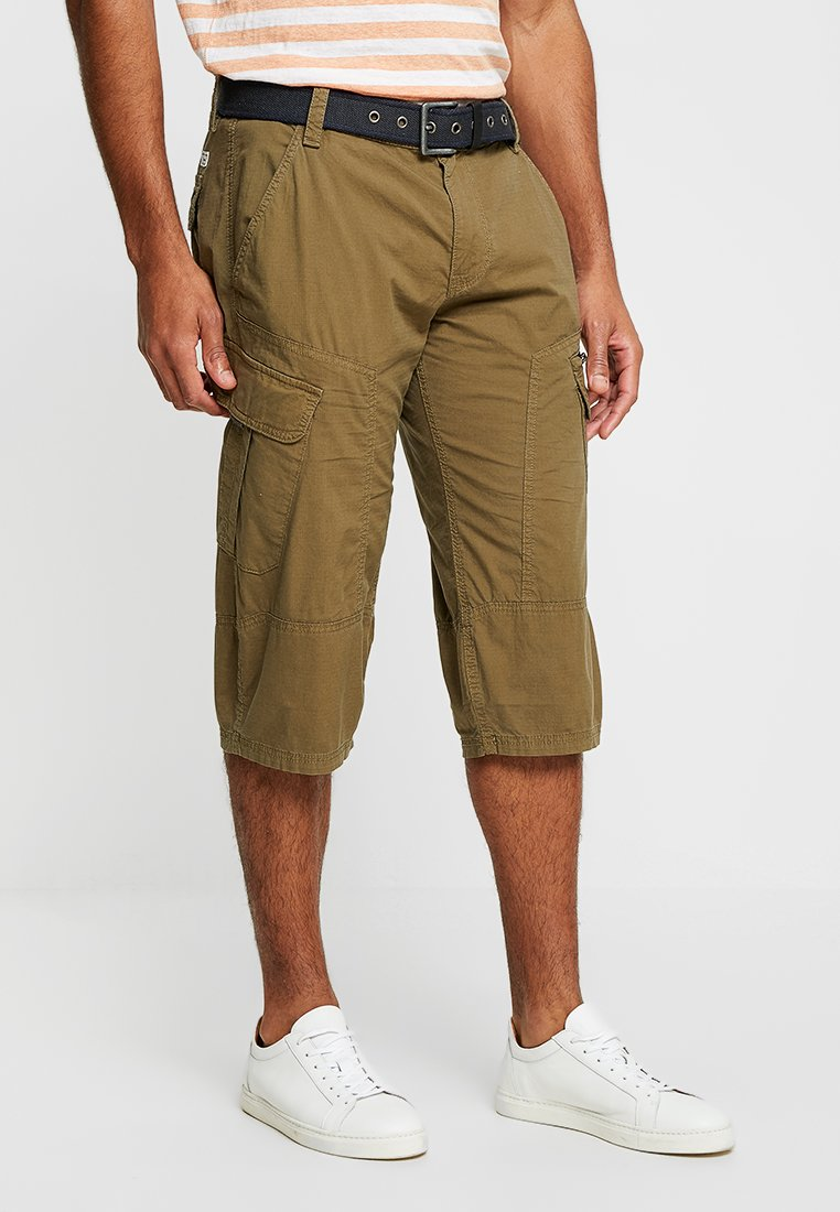 s.Oliver - HOSE - Shorts - stained oak