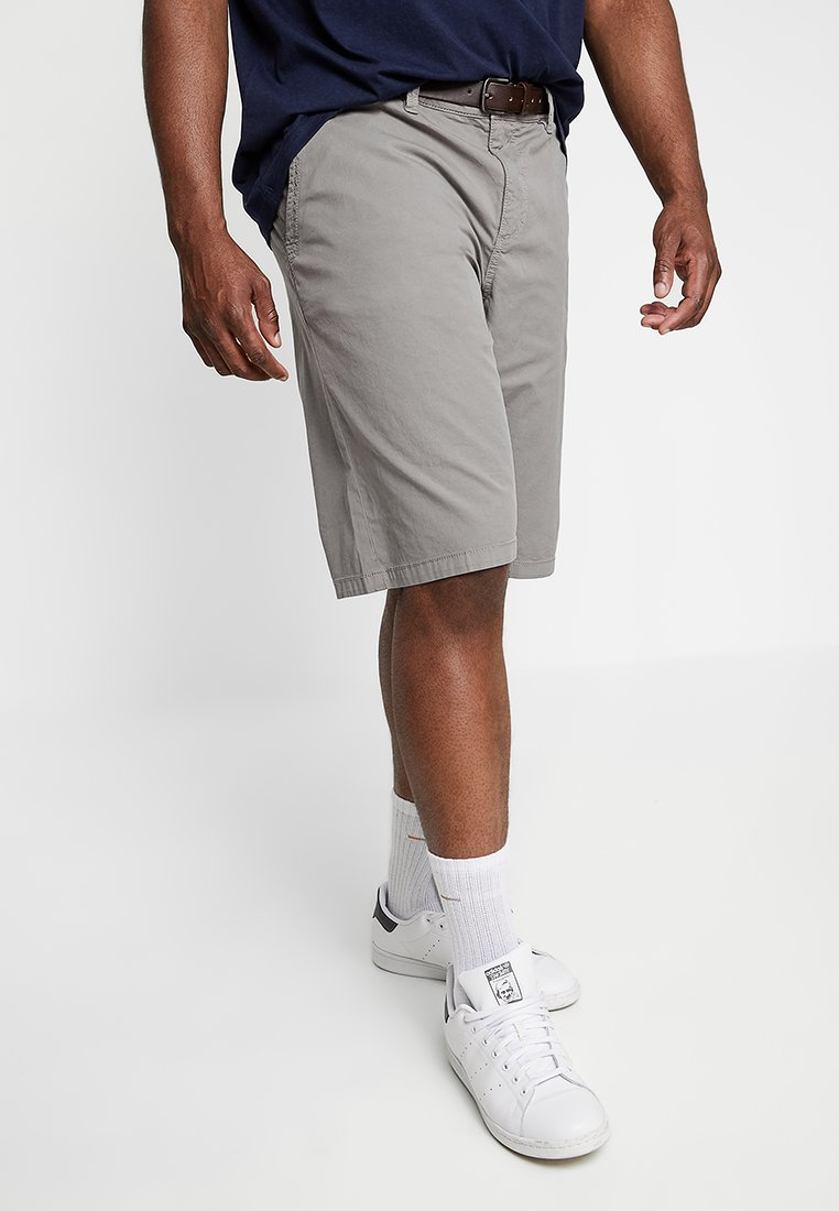 s.Oliver - RELAXED - Shorts - steel