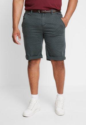 Shorts - metal green
