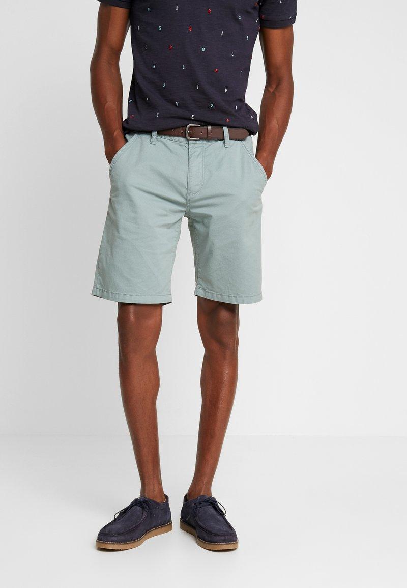 s.Oliver - SLIM - Shorts - mineral grey