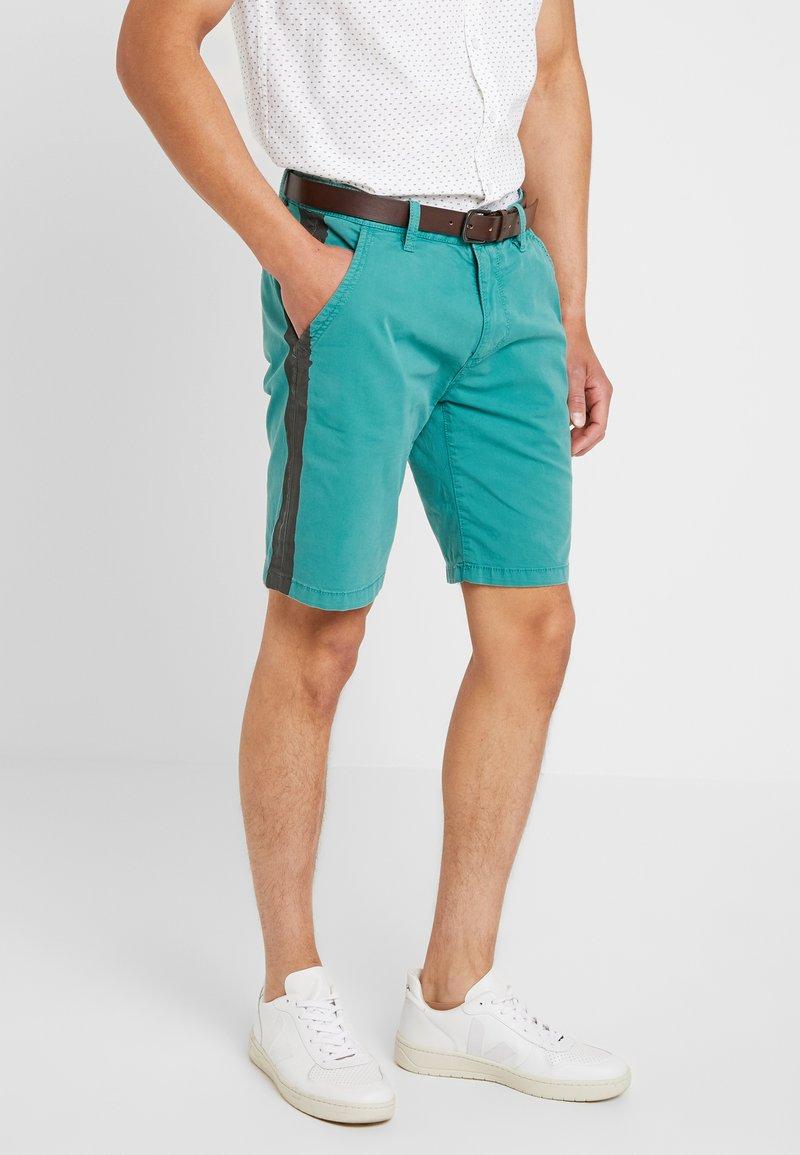 s.Oliver - SLIM - Shorts - turmalin