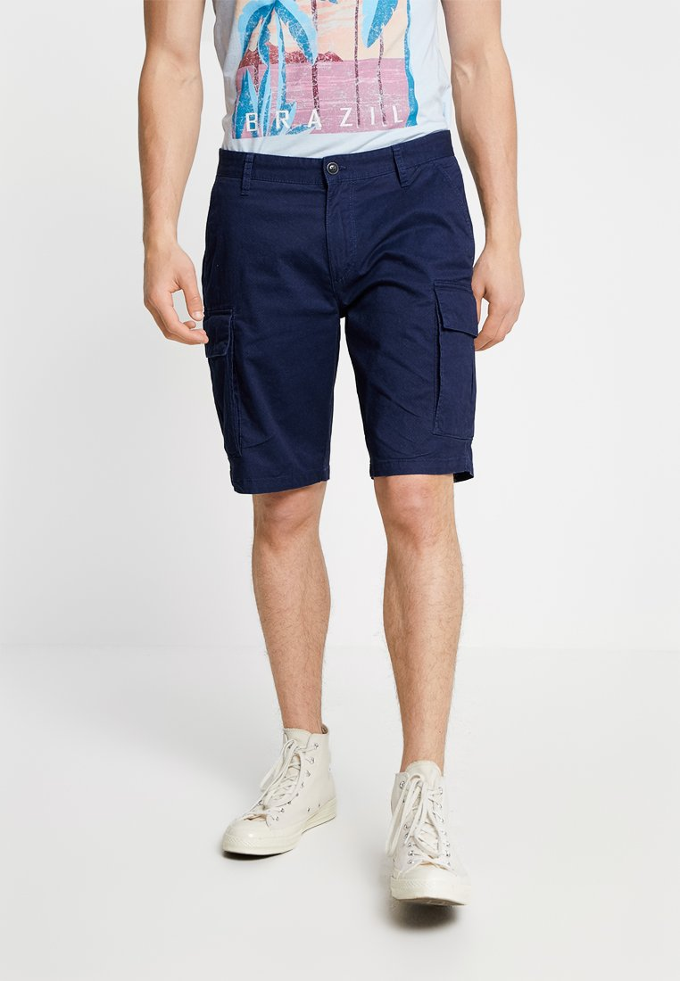 s.Oliver - LOOSE - Shorts - blue