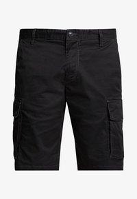 s.Oliver - LOOSE - Shorts - grey/black - 4