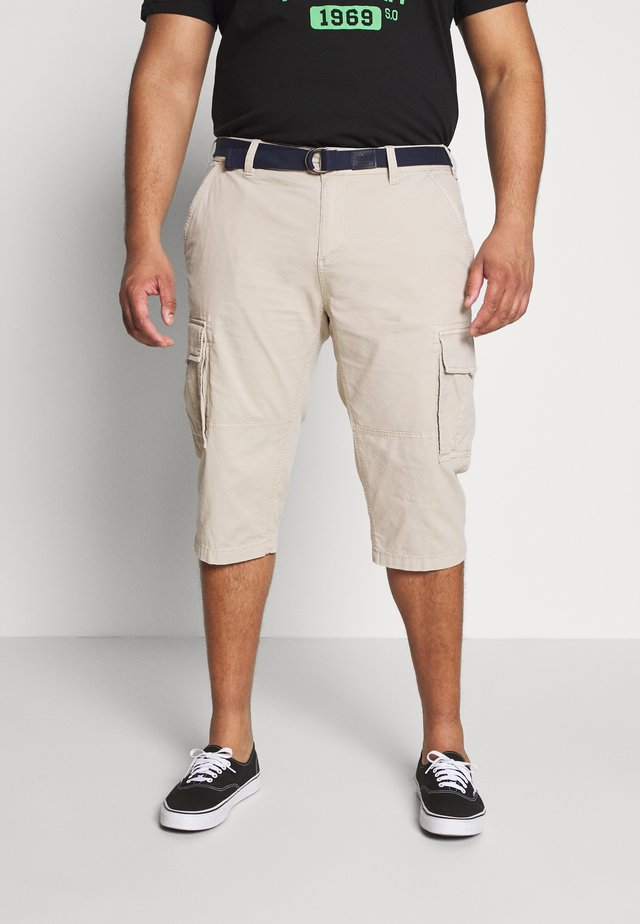 BERMUDA - Shorts - brown