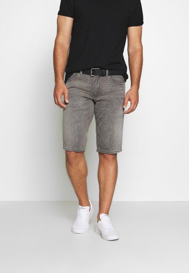 BERMUDA - Jeansshort - grey denim