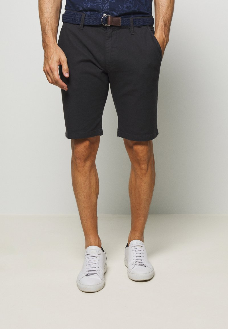 s.Oliver - Shorts - charcoal