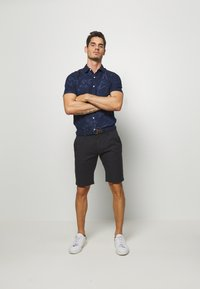 s.Oliver - Shorts - charcoal - 1