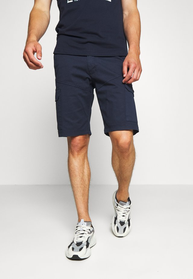 BERMUDA CARGO - Shortsit - dark blue