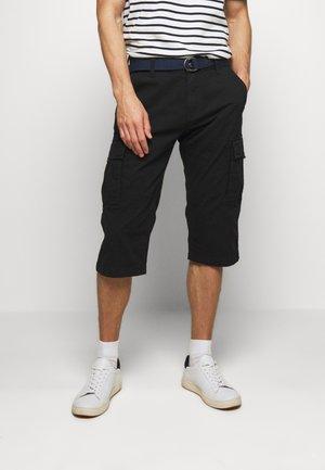 BERMUDA BELT - Shorts - black