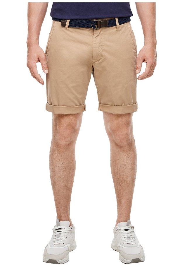 REGULAR FIT CHINOBERMUDA - Shorts - beige