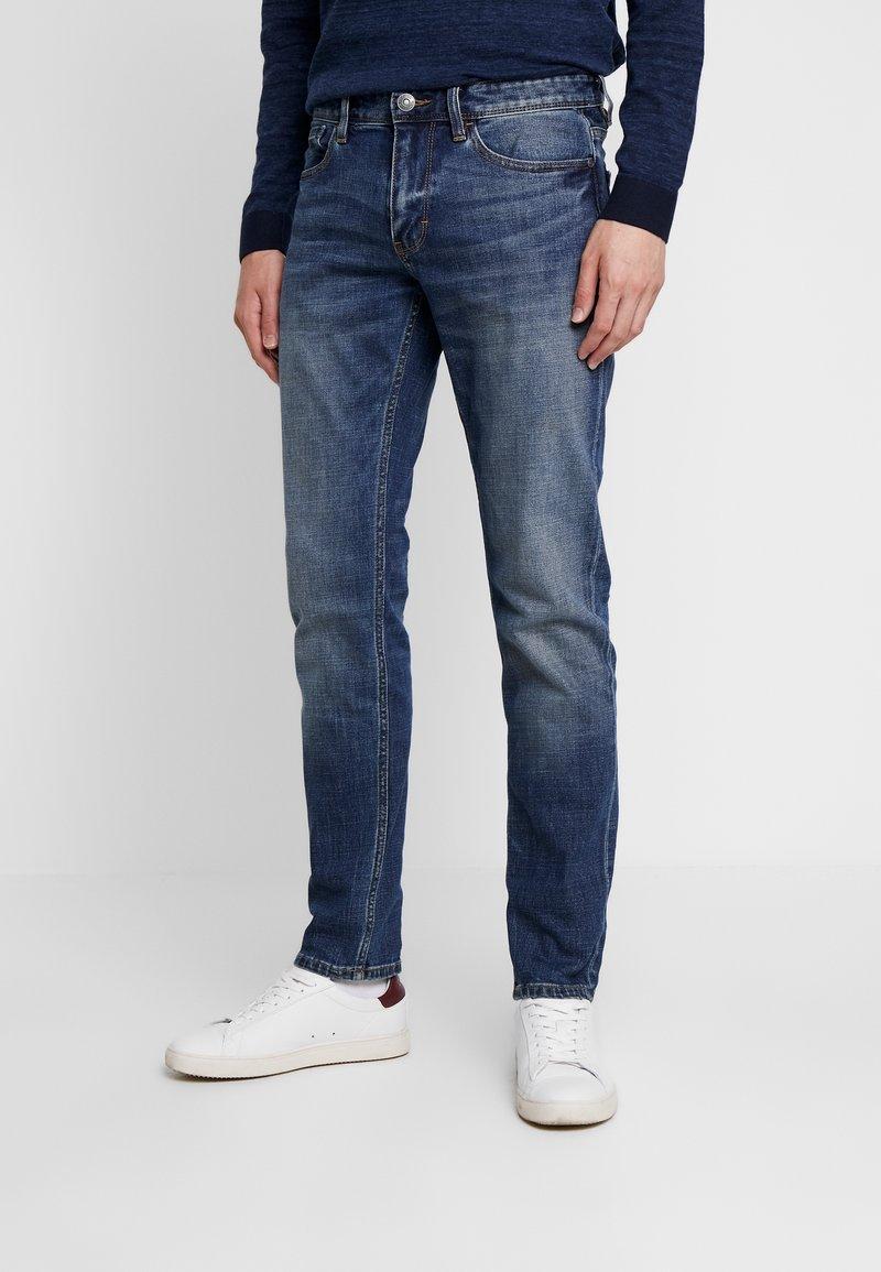 s.Oliver - Jeans Straight Leg - blue denim stretch