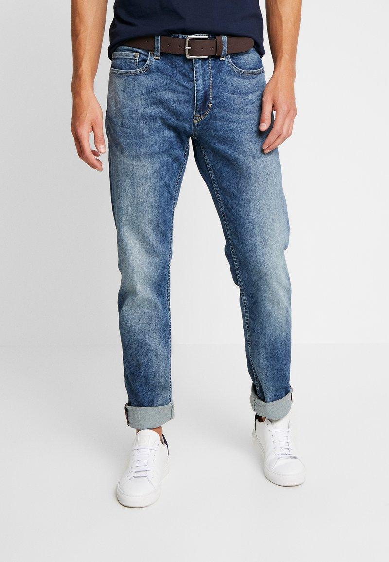 s.Oliver - Straight leg jeans - blue denim