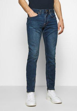 HOSE LANG - Slim fit -farkut - blue