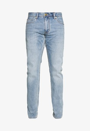 HOSE LANG - Džíny Straight Fit - blue denim