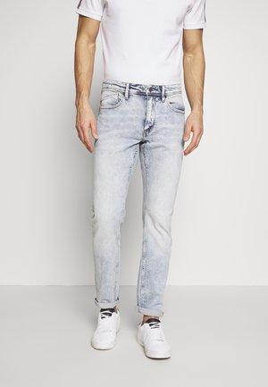 LANG - Jeans a sigaretta - blue denim