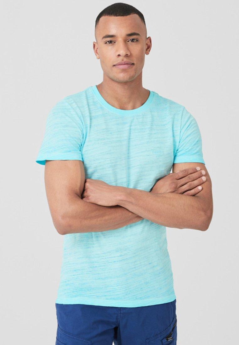 s.Oliver - T-Shirt basic - light cyan