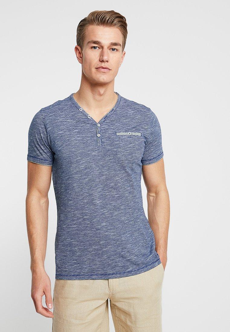 s.Oliver - KURZARM - T-Shirt basic - tile blue