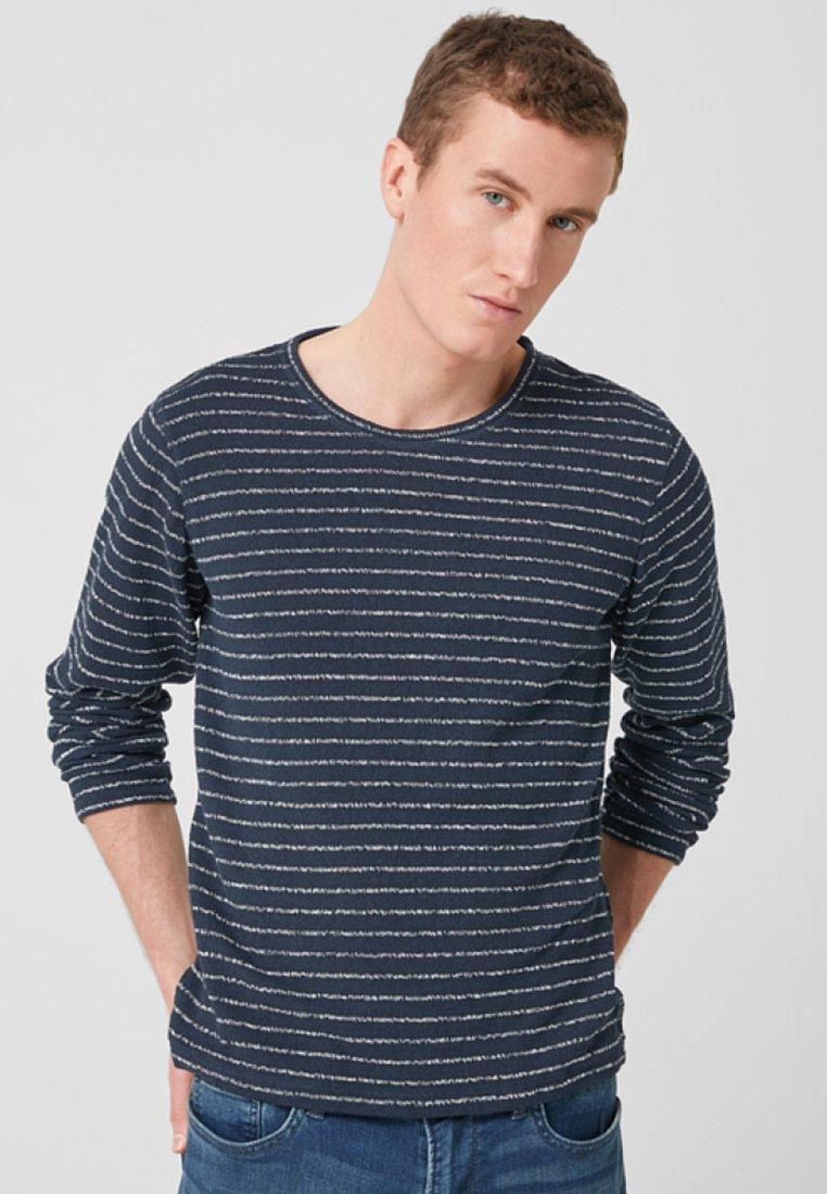 s.Oliver - MIT STREIFEN - Langarmshirt - dark blue