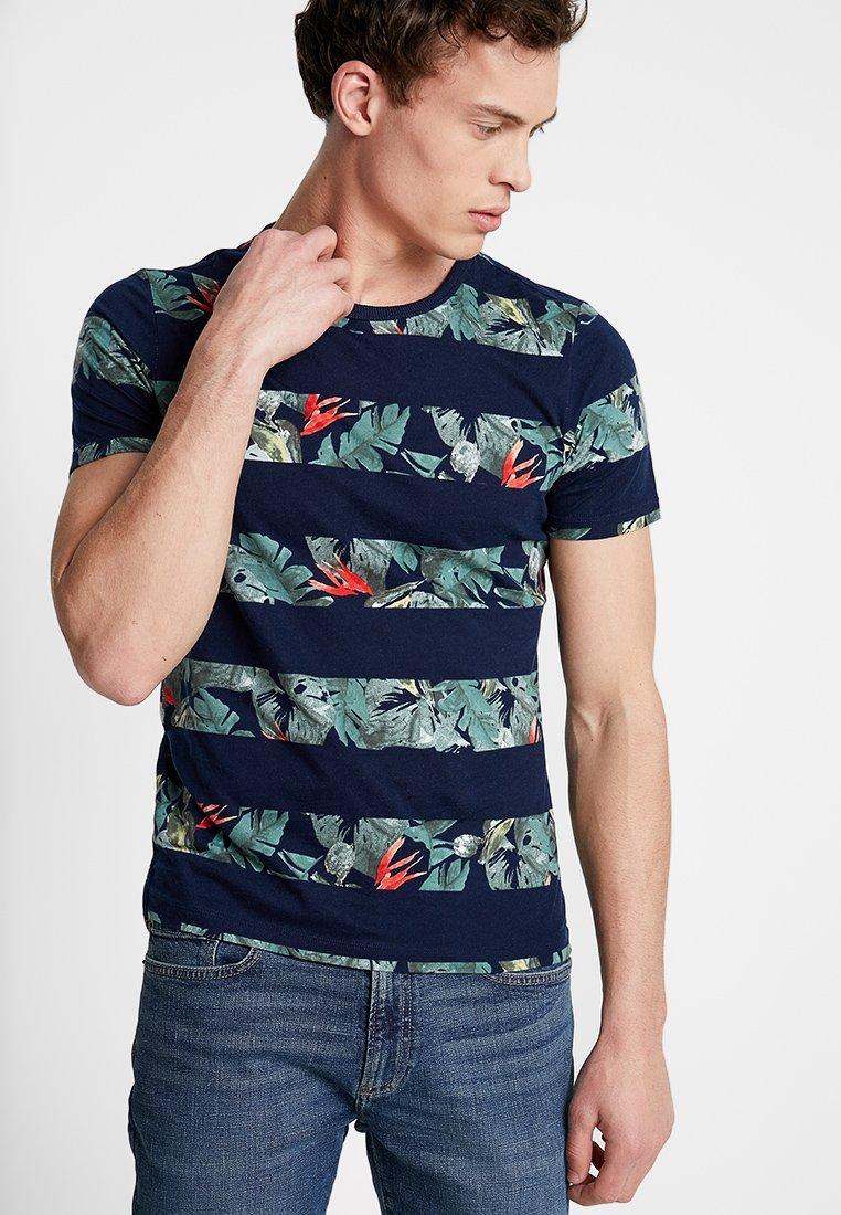 s.Oliver - T-shirt imprimé - blue