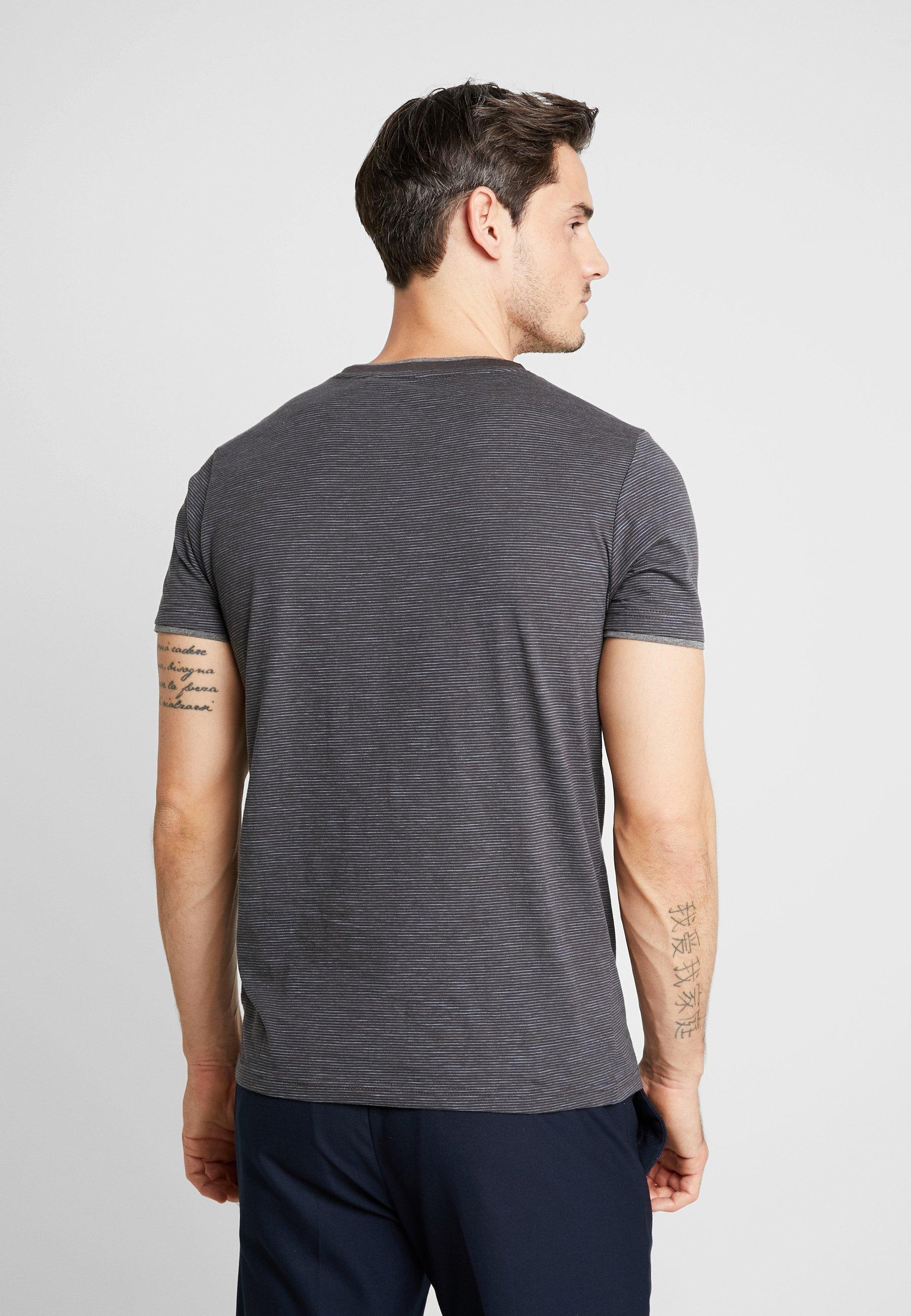 Anthracite T KurzarmImprimé S oliver shirt Ybfy76gv