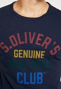 s.Oliver - KURZARM - T-shirt z nadrukiem - fresh ink - 5
