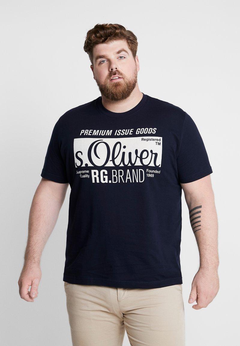 s.Oliver - KURZARM - T-Shirt print - fresh ink