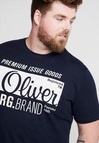 s.Oliver - KURZARM - Camiseta estampada - fresh ink - 4