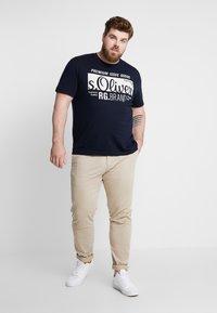 s.Oliver - KURZARM - Camiseta estampada - fresh ink - 1