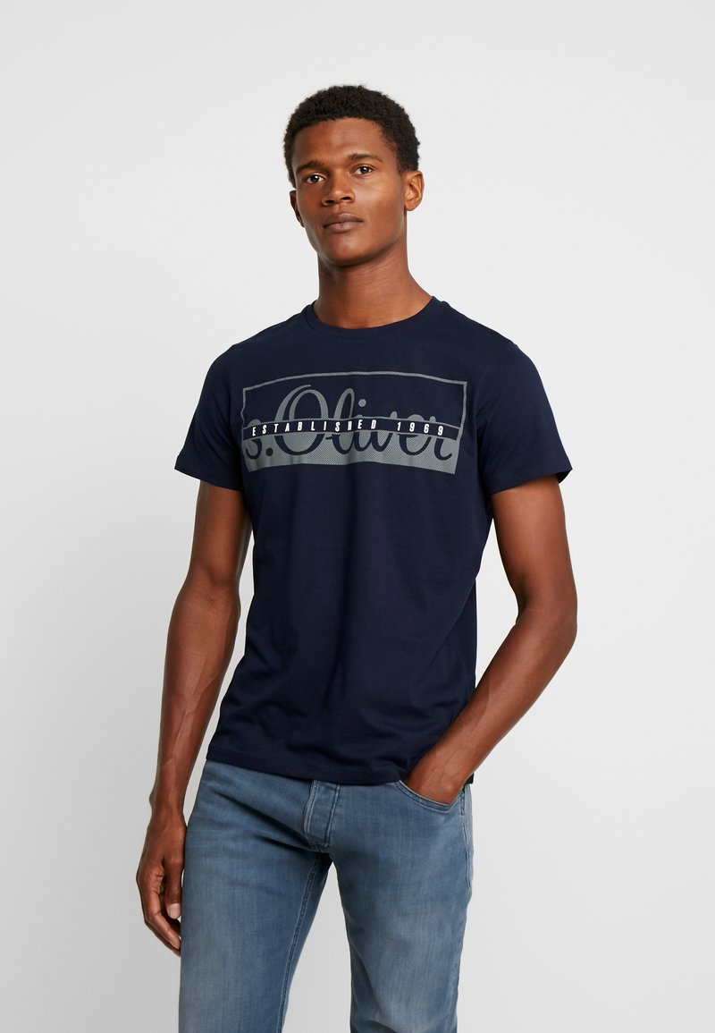 s.Oliver - T-shirt con stampa - fresh ink