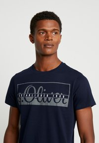 s.Oliver - T-shirt con stampa - fresh ink - 3