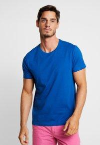 s.Oliver - KURZARM 2 PACK - Camiseta estampada - royal blue - 1