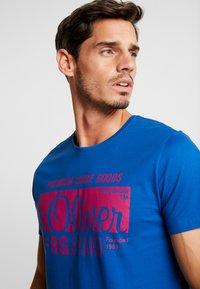 s.Oliver - KURZARM 2 PACK - Camiseta estampada - royal blue - 5