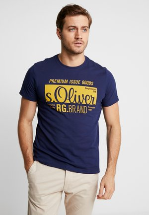 KURZARM 2 PACK - T-shirt con stampa - dark blue