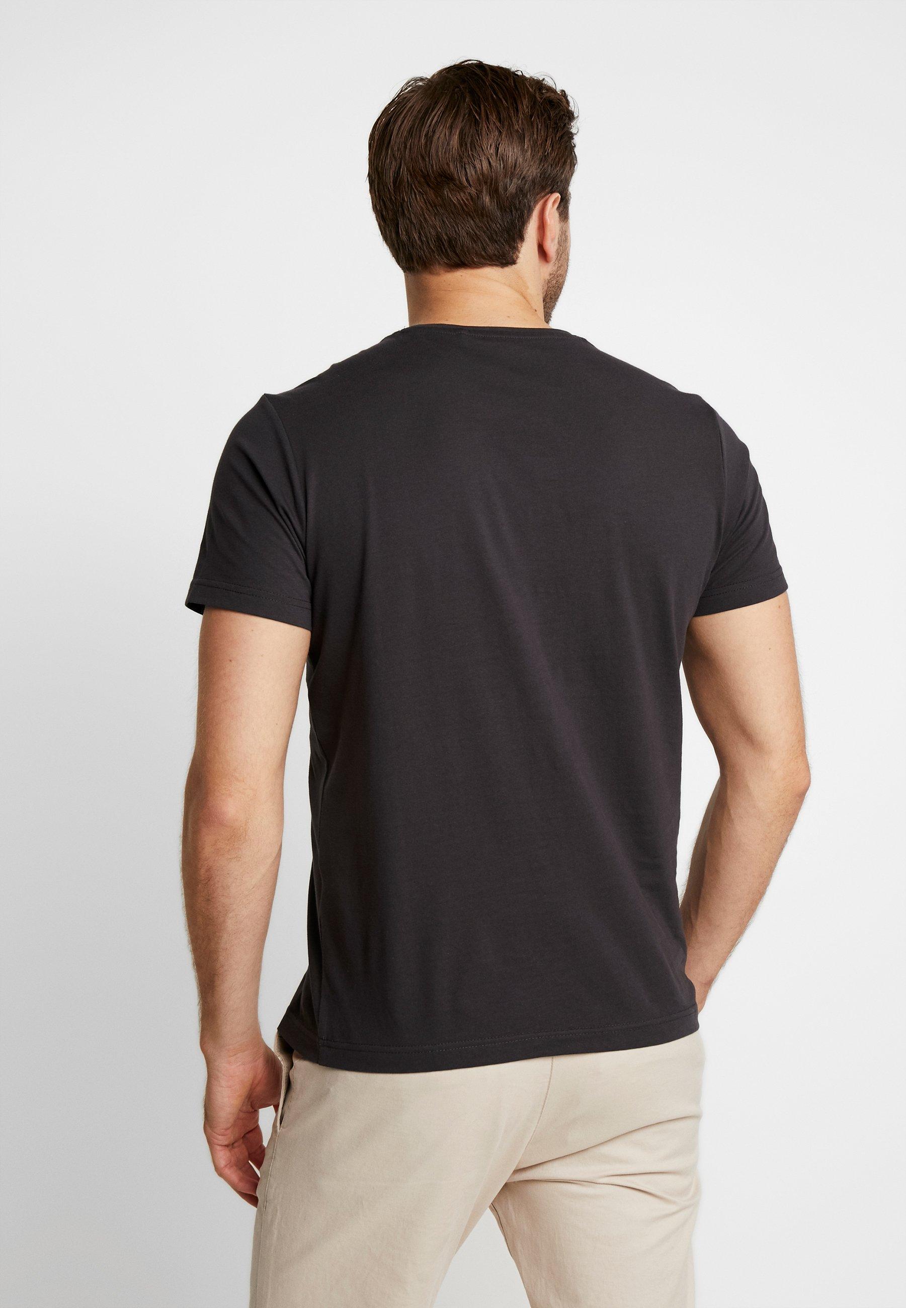 shirt black Kurzarm oliver S Grey PackT Imprimé 2 HD2eE9YIW