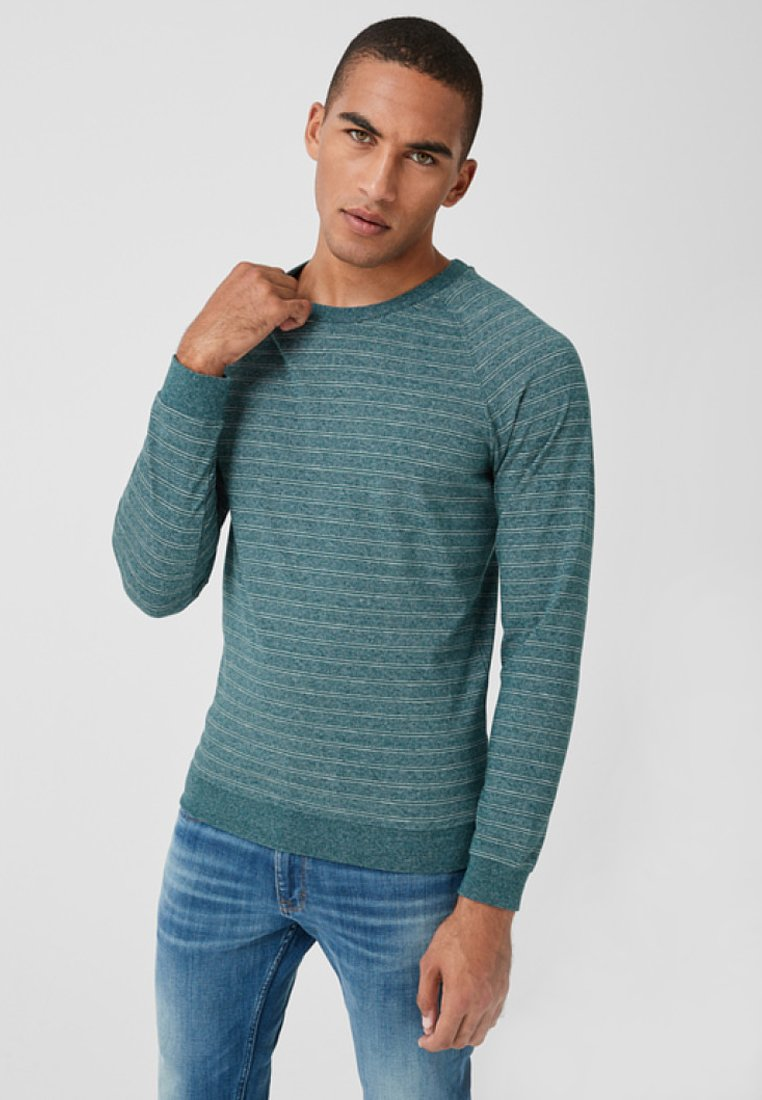 s.Oliver - Long sleeved top - green