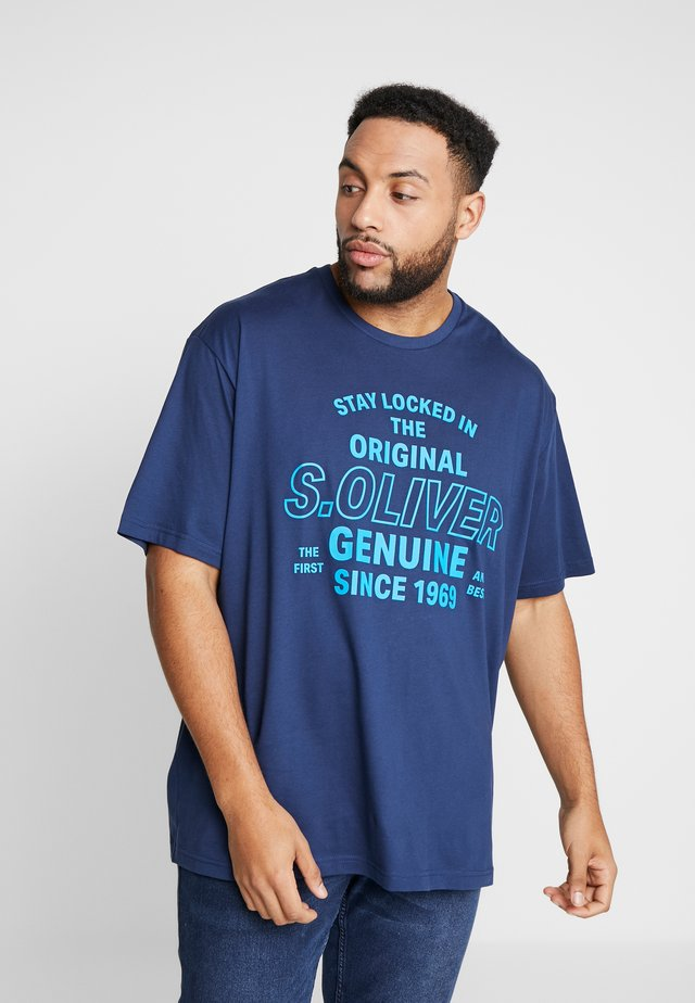 KURZARM - T-shirt print - medieval blue