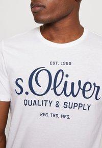 s.Oliver - T-shirt print - white - 4
