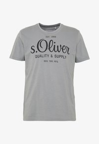 s.Oliver - T-shirt print - ice grey - 3