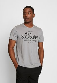 s.Oliver - T-shirt print - ice grey - 0
