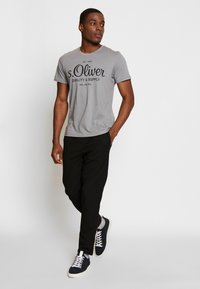 s.Oliver - T-shirt print - ice grey - 1