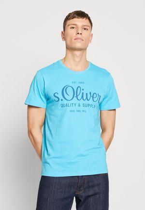 T-shirts med print - turquoise