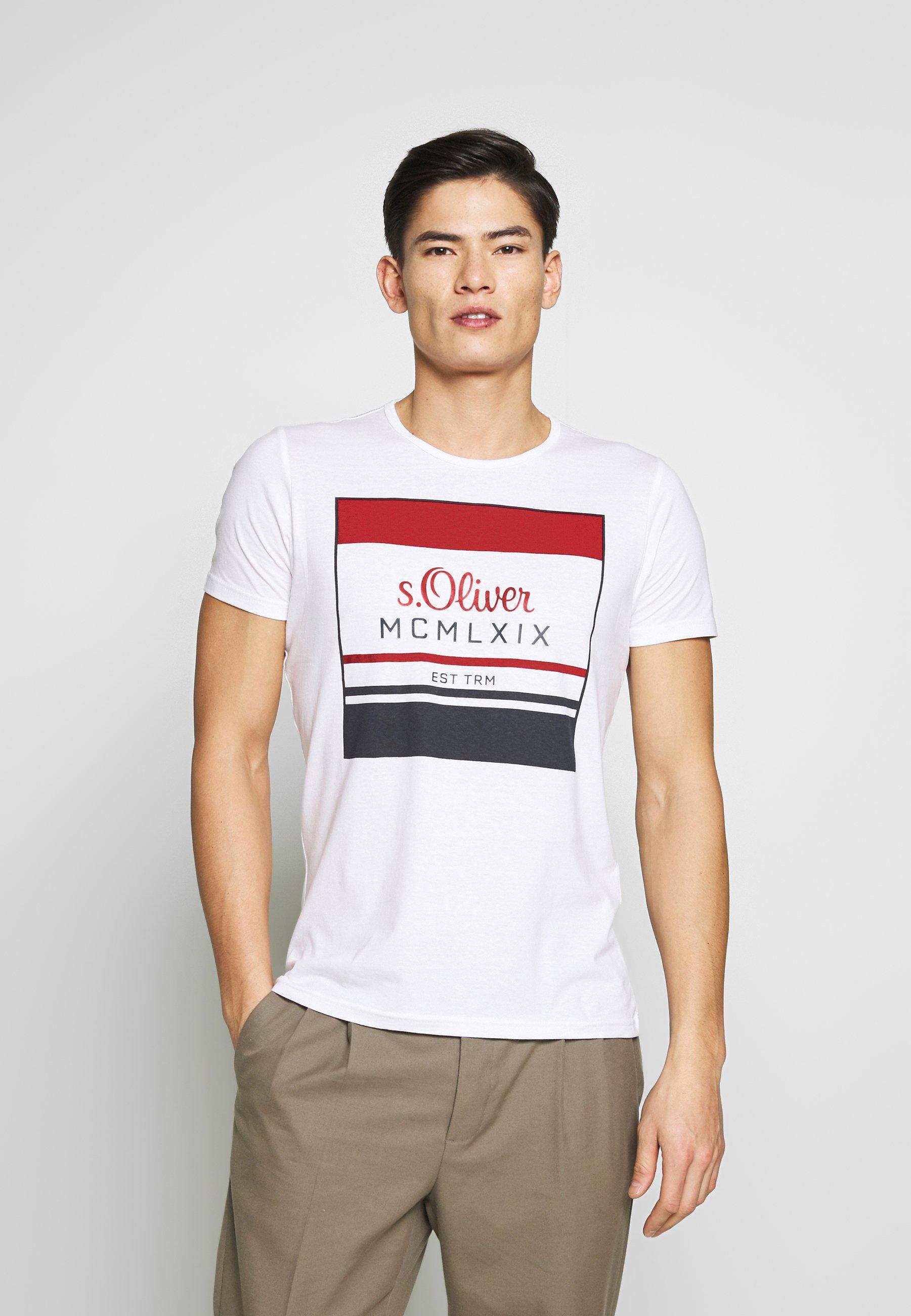 Koszulki męskie s.Oliver idealne na każdą okazję w Zalando