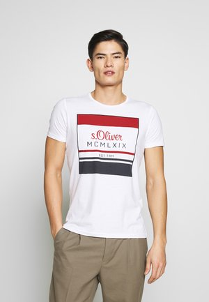 KURZARM - T-shirt print - white