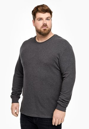 Langarmshirt - dark gray