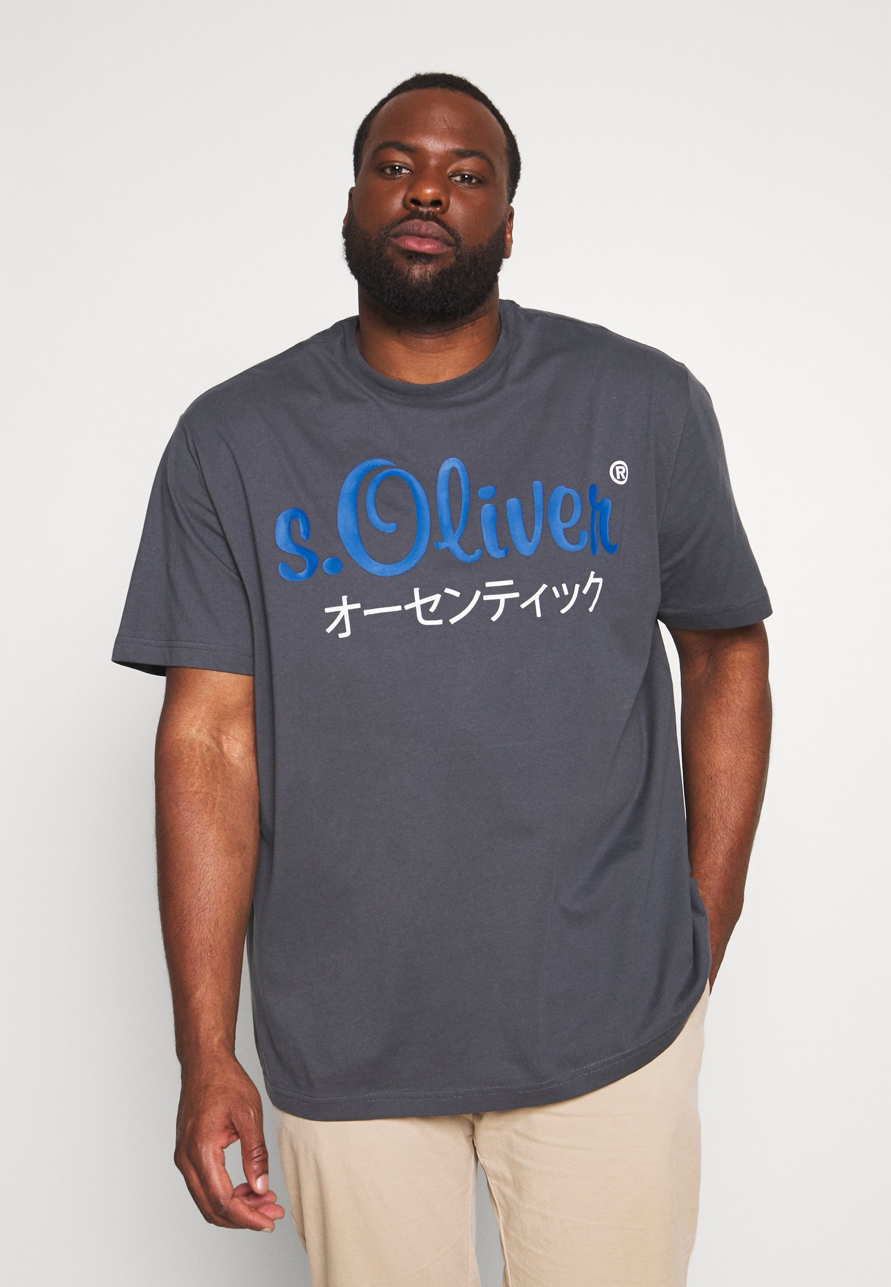 s.Oliver T-shirt z nadrukiem - volcano